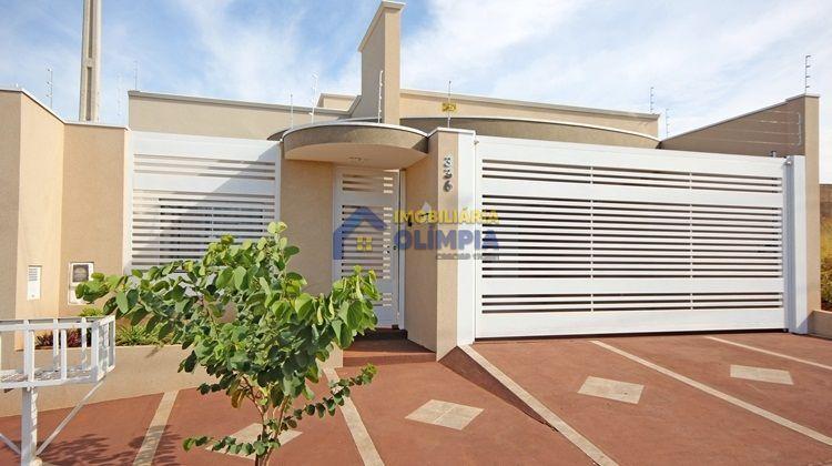 Casa à venda  no Jardim Amélia Dionísio - OlÍmpia, SP. Imóveis