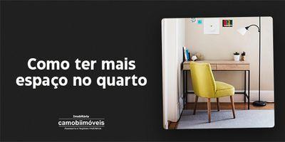 5 dicas para otimizar o espaço do quarto