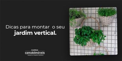 Dicas para montar o seu jardim vertical!