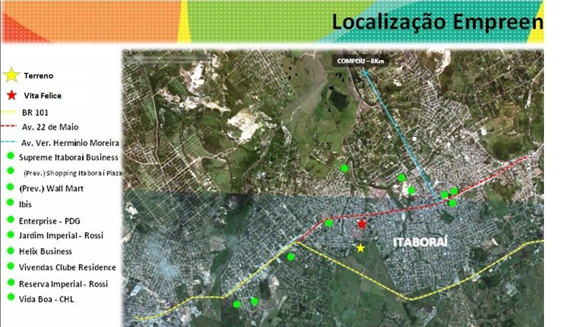 Terreno/Lote à venda  no Outeiro das Pedras - Itaboraí, RJ. Imóveis