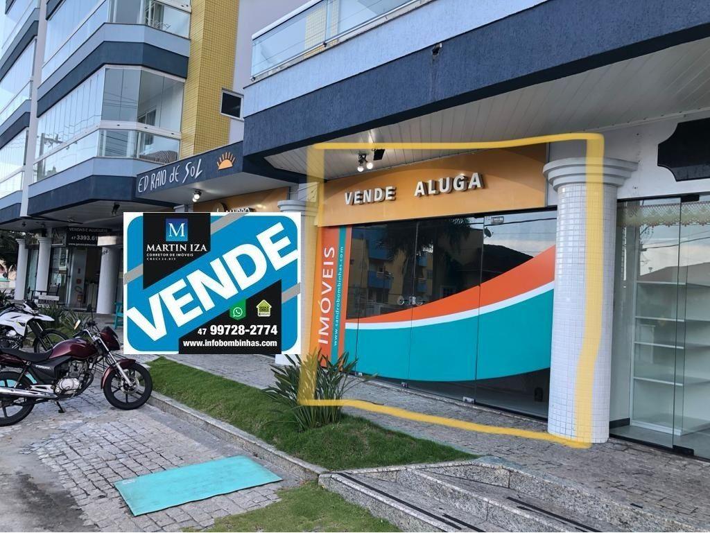 Sala comercial à venda  no Bombas - Bombinhas, SC. Imóveis