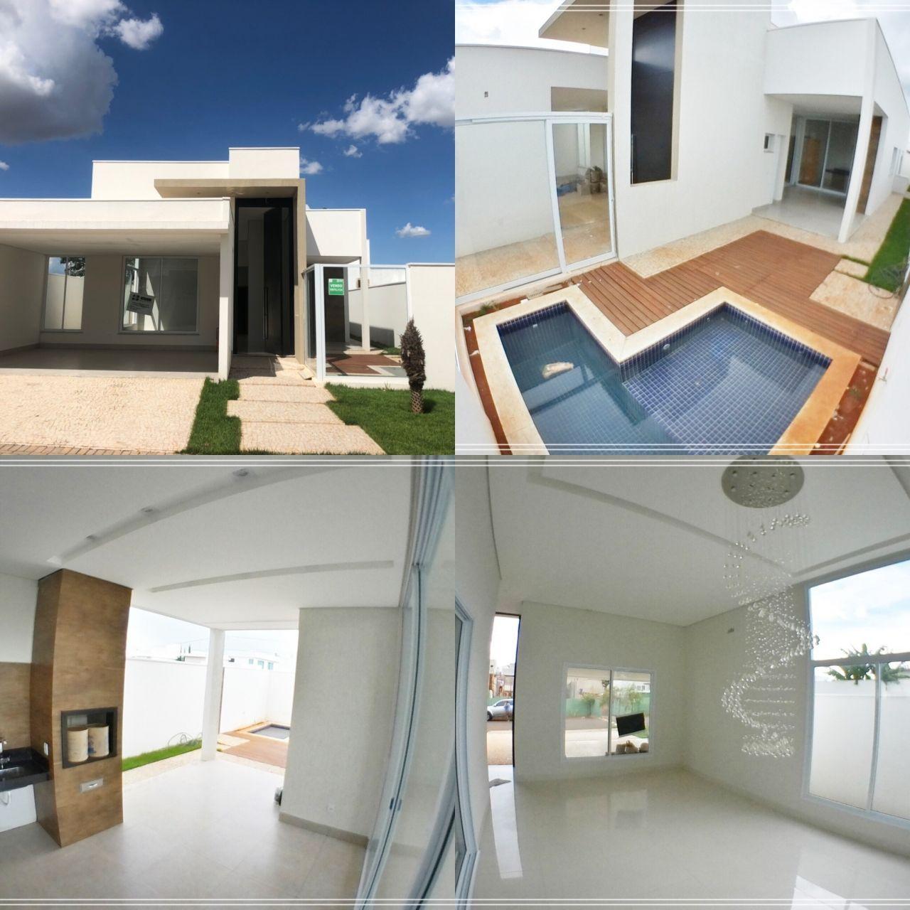 Casa em condomínio à venda  no Jardim Botânico - Uberlândia, MG. Imóveis