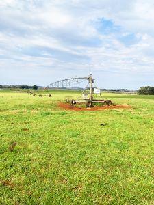 2800 hectares de soja com 4 pivôs e 5 barragens