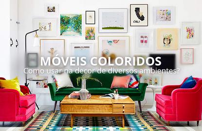 5 perguntas e 5 respostas sobre móveis coloridos no decor