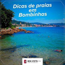 Dicas de praias em Bombinhas