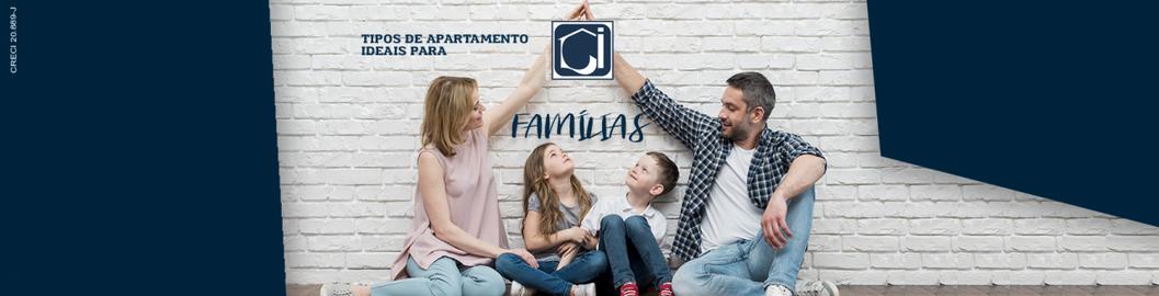 Tipos de apartamentos ideais para famílias