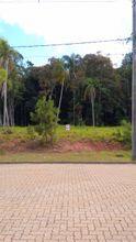 Vista da rua para o terreno.