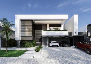 Perspectiva fachada leste